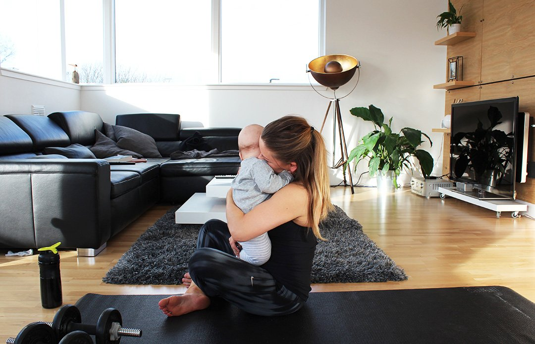 #afterbabybody: Fit mit Kind