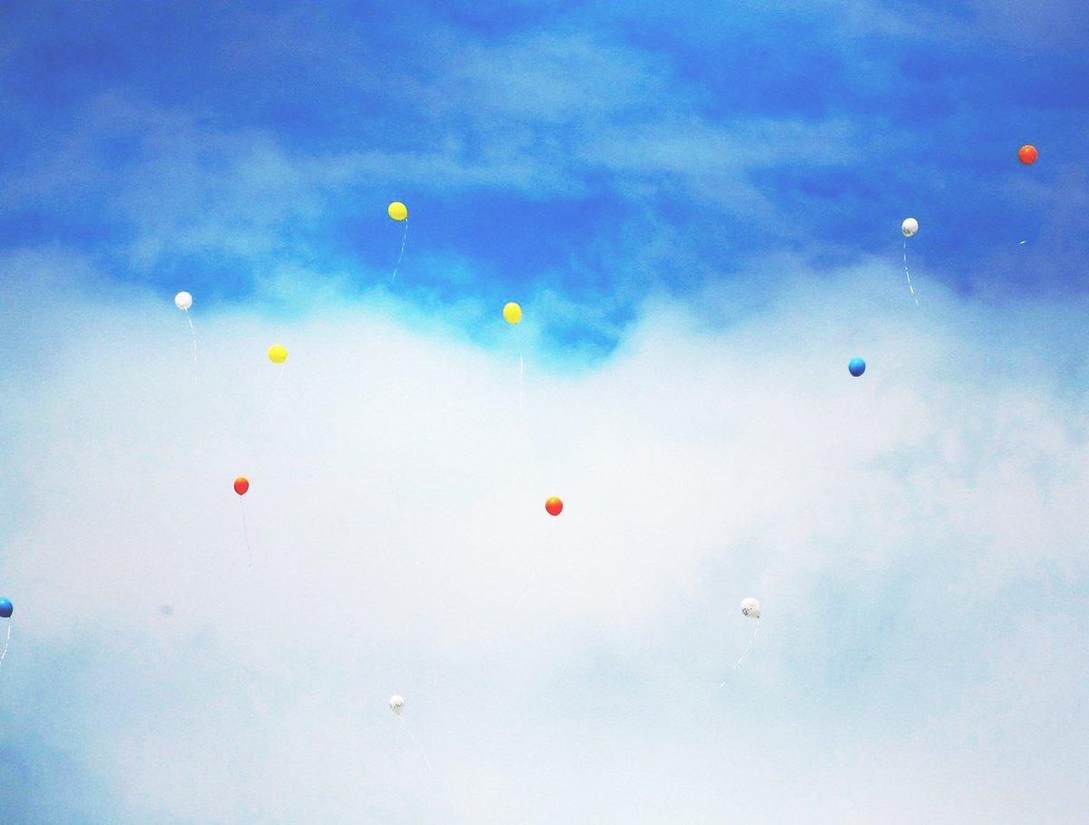 Letzter Abschiedsgruß für einen kleinen Jungen, der friedlich aber zu früh von der Erde ging.