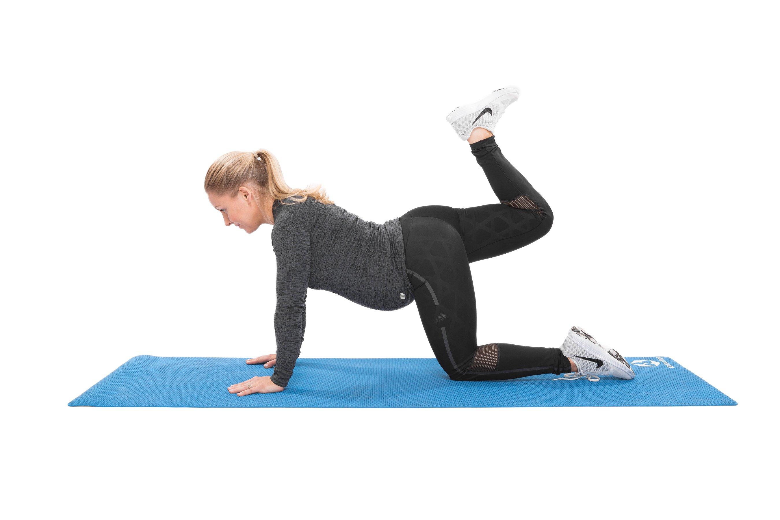 Fitnessübungen Schwangerschaft