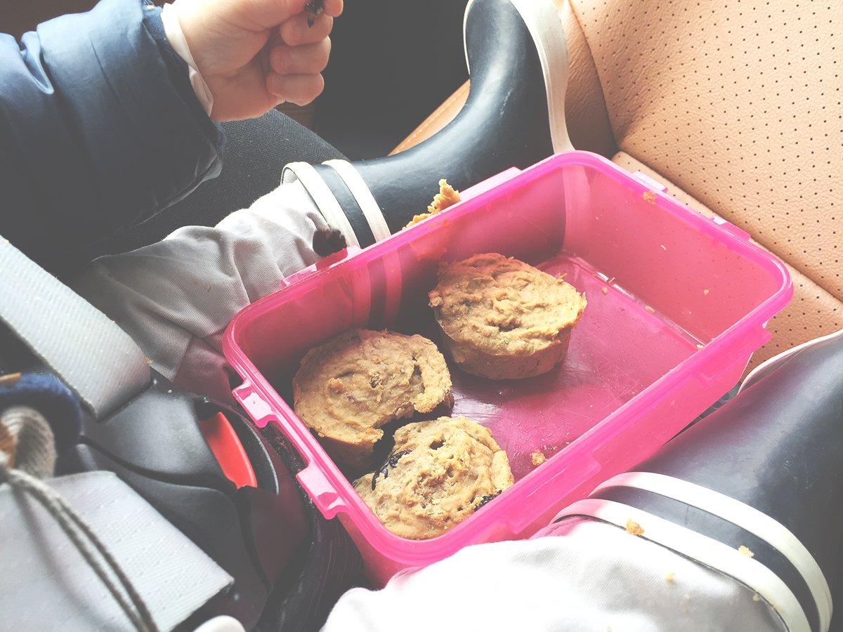 Süßkartoffel-Muffins für Kids
