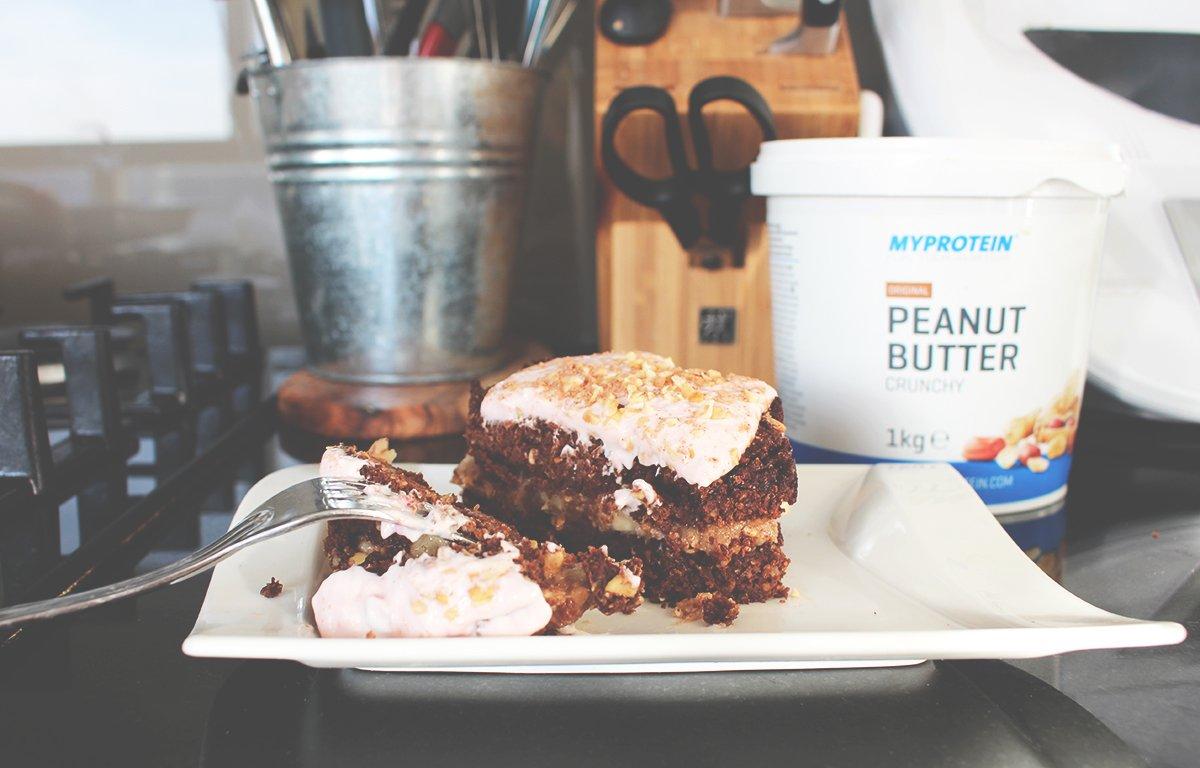 Mug Cake Peanut Butter Banane