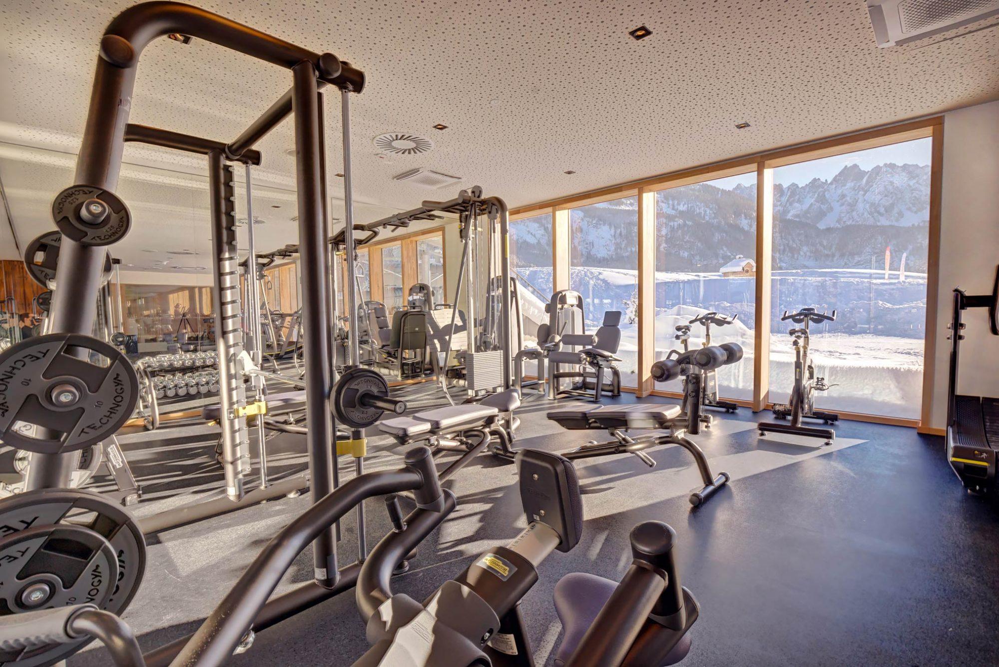Fitnessraum klein (www.360perspektiven.at)