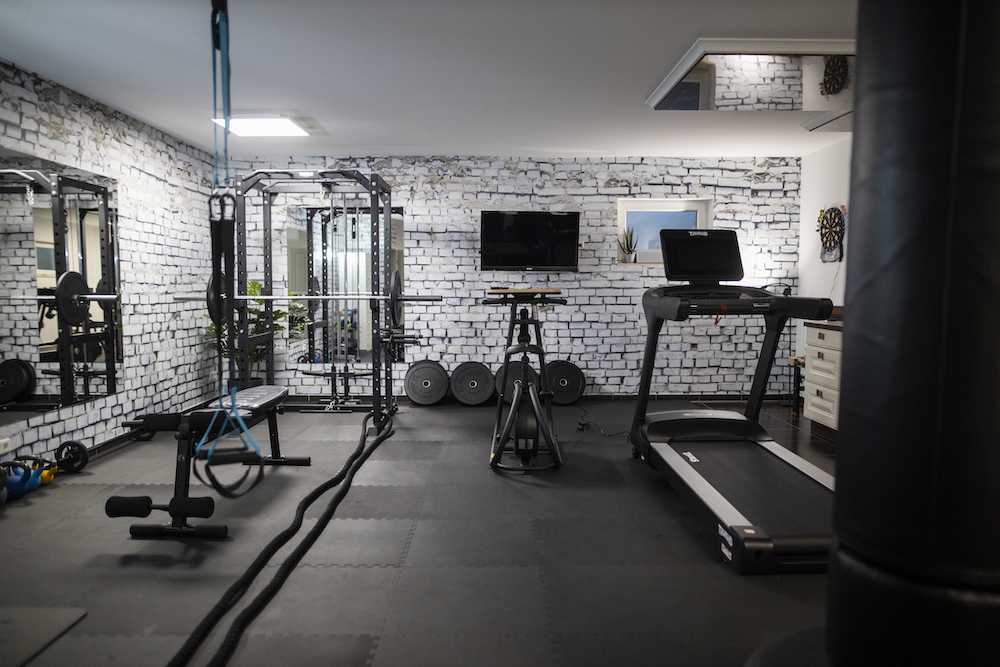 Home Gym, Fitnessraum (Yavi Hameister, mama-moves)