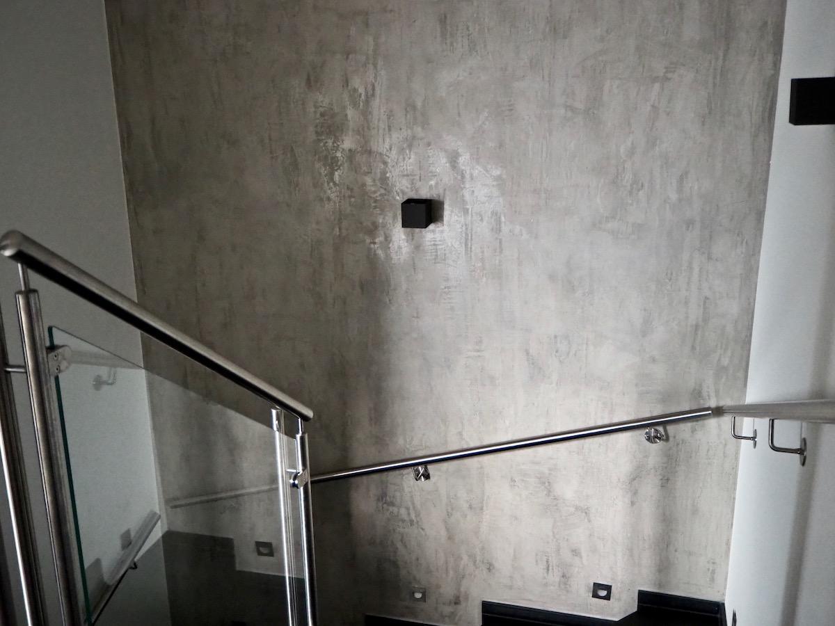 Treppenaufgang Beton
