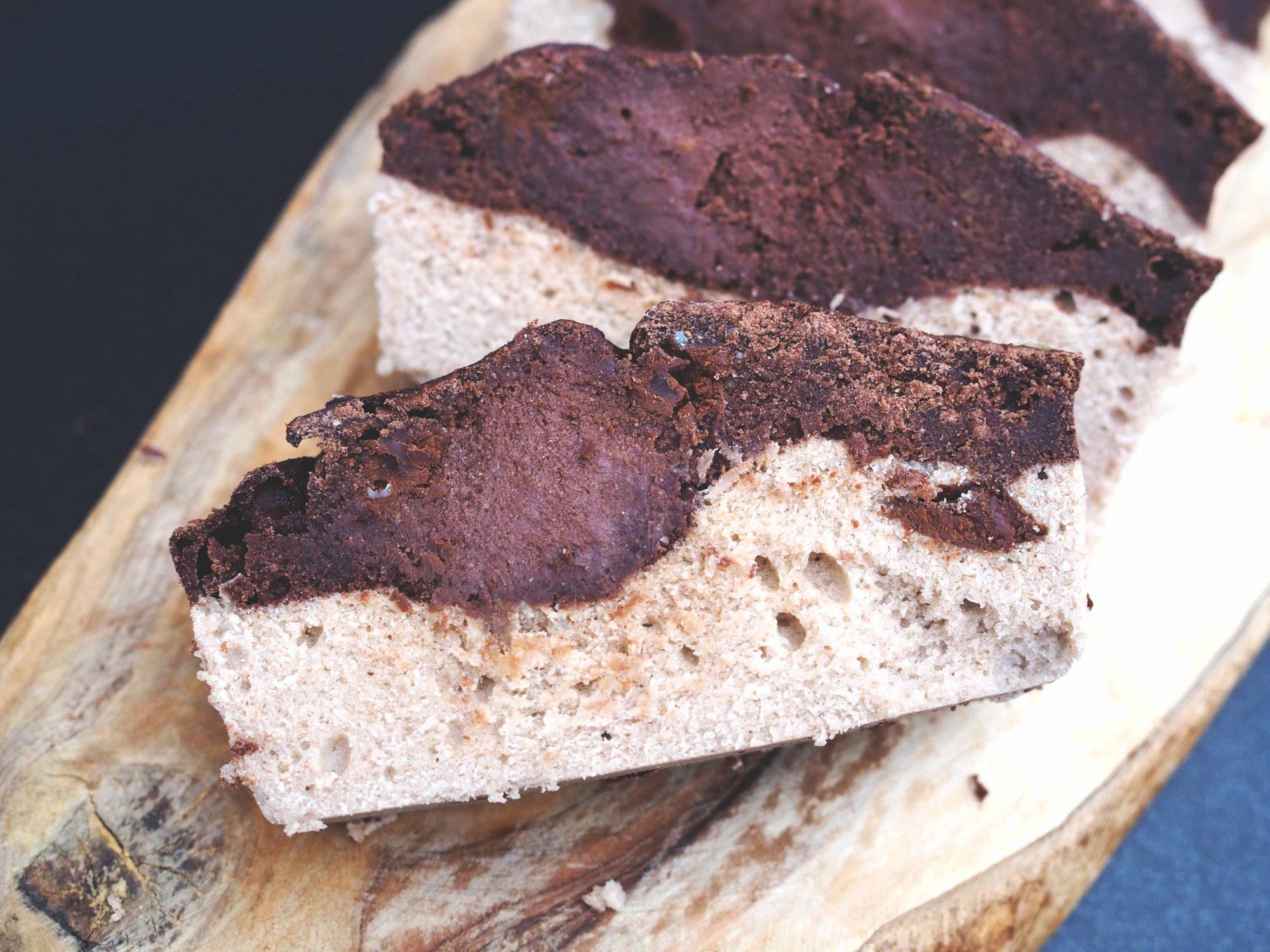 Marmor Kuchen Bananenbrot vegan und glutenfrei